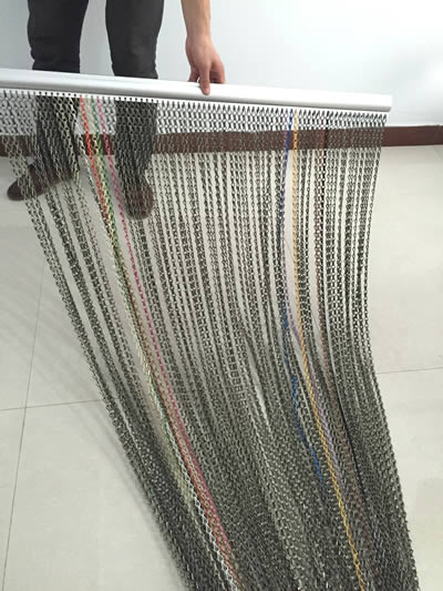 Chain Link Curtain An Ideal Solution For Doorway And