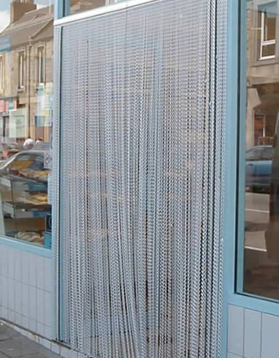 Durable Doorway Fly Screen Is Easy To Get Through For People